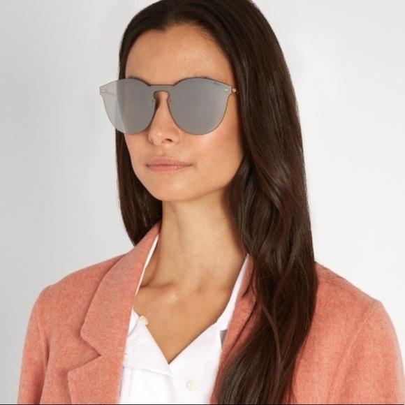 ec87bf02ce NWT Illesteva Leonard Grey Mask Sunglasses